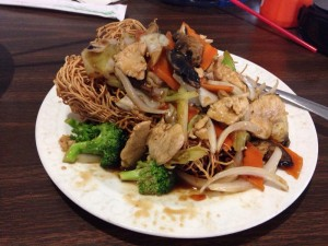 Pho Hai An Crispy Noodles with Veggies and Chicken